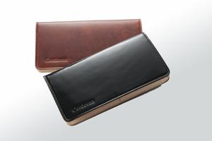 コードバン小銭入付長財布